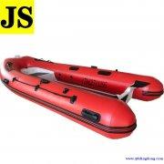 杰世型号RIB390铝合金钓鱼船橡皮艇